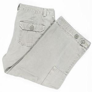 GAP Capri Cargo Pants Size 10 #00386
